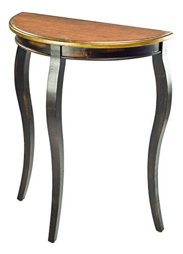 Safavieh American Homes Collection Filton Rustic Black and Walnut Side Table Review