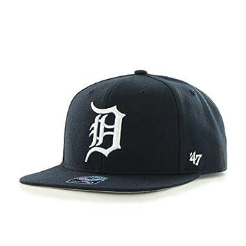 47 Brand Tigres de Detroit Sure Shot Gorra Sombrero Marina casa MLB ... d64af5344c7