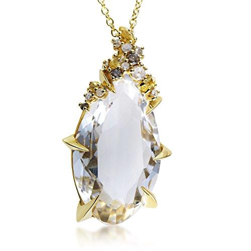 Alexis Bittar 18K Yellow Gold Diamond & Gemstone Pendant Necklace FN33N023 ()