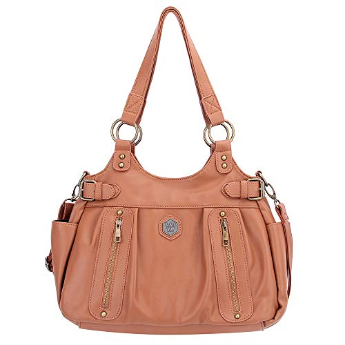 Fashion Handbags for Women,Women's Shoulder Bags PU Leather Handbags Top-Handle Purse For Ladies ()