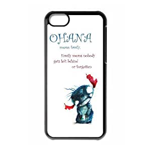 Exquisite stylish Cartoon phone protection shell iPhone 5C Cell phone case for Ohana Cartoon pattern personality design