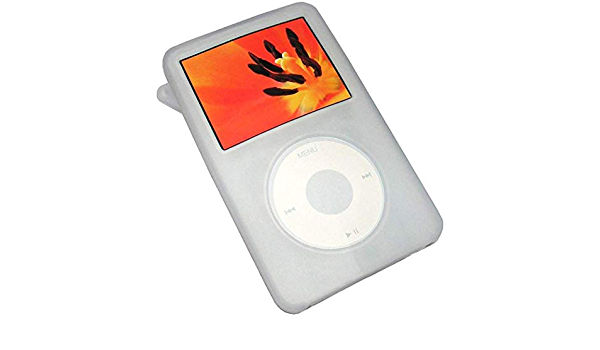 Snap-On Rubberized Skin Hard Case Cover for iPod Classic 80GB 160GB 120GB Accessory Clear