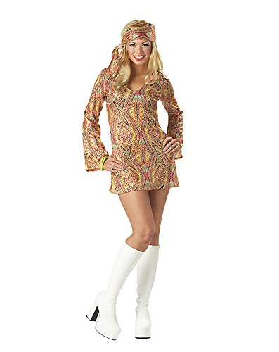 Adult Disco Dolly - DISCO DOLLY Costume Adult Small