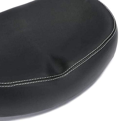 CestMall Selle de v/élo rembourr/ée PU sans Nez Large Remplacement Confortable Coussin de si/ège de v/élo sans Pression avec Double Arc de Suspension de Suspension pour v/élo de Route//Montagne//Pliant