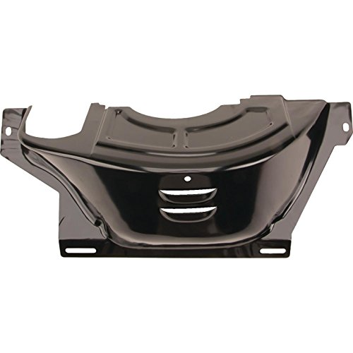 GM 700R4 Flywheel/Flexplate Dust Cover, Black Steel