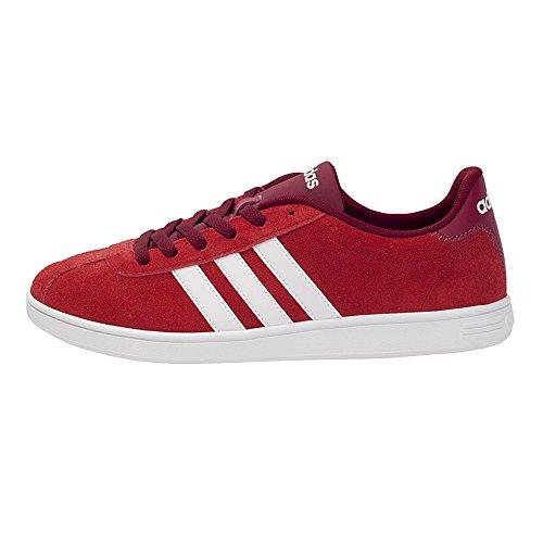 adidas VLCOURT - Zapatillas deportivas para Hombre, Rojo - (ESCARL/FTWBLA/BURUNI) 46 2/3