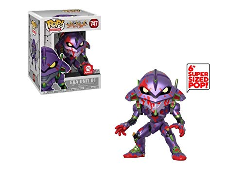 POP Funko Neon Genesis Evangelion 747 Bloody Eva Unit 01 Super Sized