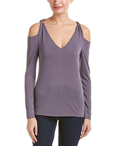 Ella moss Women's Isabella Cold Shoulder Top, Lilac, S