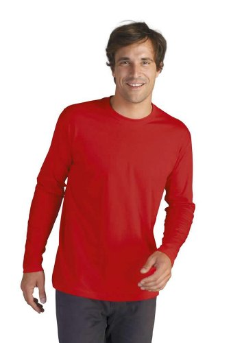 Sols Langarm T-Shirt Monarch, Red, XL