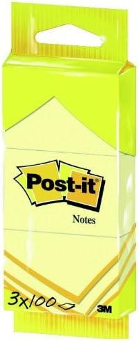 Post-It 6810 - Pack de 3 blocs de notas adhesivas, 38 x 51 mm ...