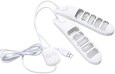 yorten USB Schuhtrockner Intelligent Timing Schuhtrockner Sterilisieren Beseitigen Sie schlechten Geruch 10W Schuh-Trockner