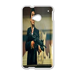 HTC One M7 Phone Case White Al Pacino Scarface ZBC381867