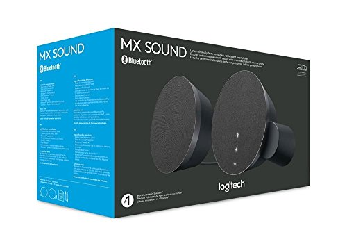 Logitech MX Sound 2.0 Multi Device Stereo Speakers with Premium Digital Audio for Desktop Computers, laptops, and Bluetooth-Enabled by Logitech (Image #2)