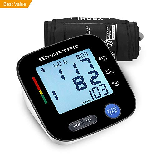 Blood Pressure Monitor Upper Arm - Digital Automatic Large Cuff BP Monitor for Home Use, 2 * 90 Memories, Storage Bag Included, FDA&CE Certificate (Best Home Bp Monitor)