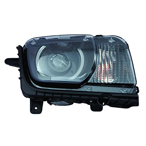 Fits Chevrolet Camaro Type1 Model 2010-13/ZL1 Model 2014-2015 Headlight Assembly HID W/O Leveling Passenger Side (NSF Certified) GM2503340N (Camaro 13 Chevrolet)