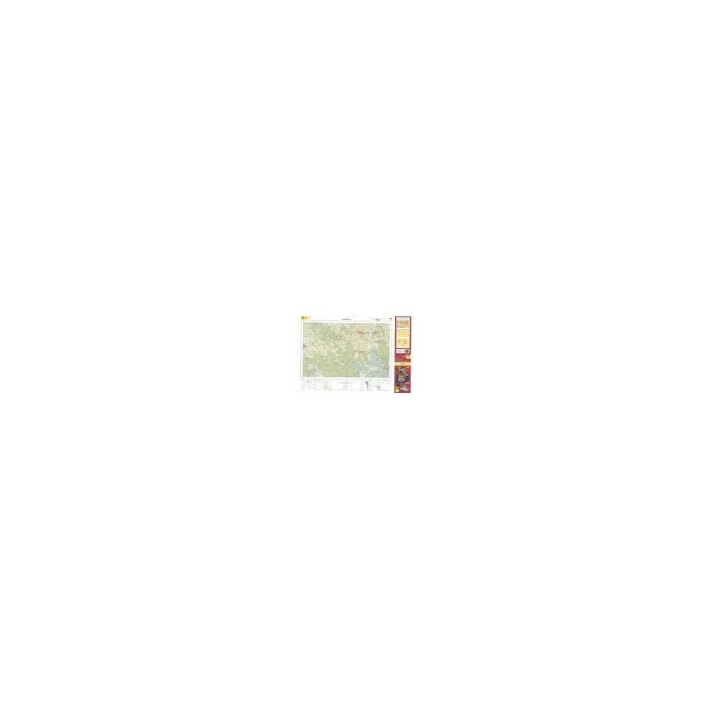 Mapa Topográfico Nacional de España, Almonte 1:50.000: Amazon.es ...