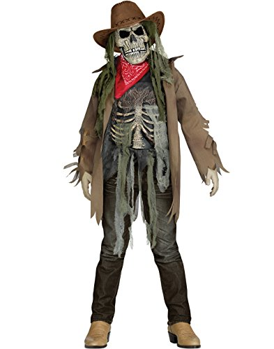Wanted Dead or Alive Child Costume - Medium - Cowboy Zombie Costumes