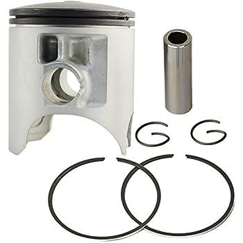 AHL 2 Sets Piston /& Piston Rings Pin Clips Kit for Yamaha XC125 XV250 Virago 1995-2007 V-star 250 2008-2015 Route 66 1988-1990 STD 49mm
