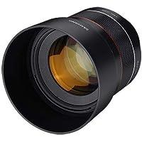 Samyang F1.4 - Lente sellada para Sony E-Mount (85 mm)