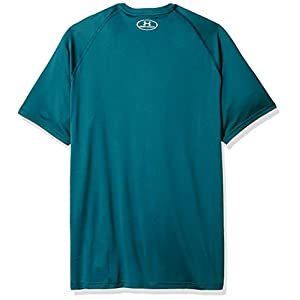 Under Armour Men's Tech Short Sleeve T-Shirt, Tourmaline Teal (716)/Tin, XXX-Large