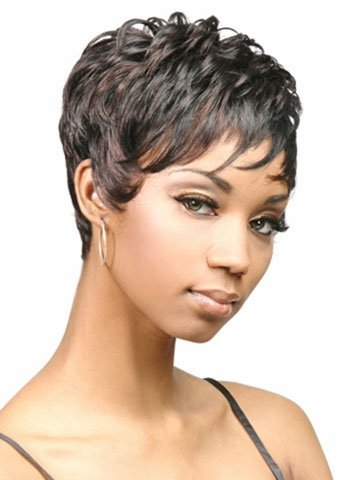 UPTOP Hair Fashion Women Trendy Copper Black