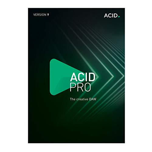 ACID Pro - Version 9 - Loop-based music production with the creative DAW [PC Download]