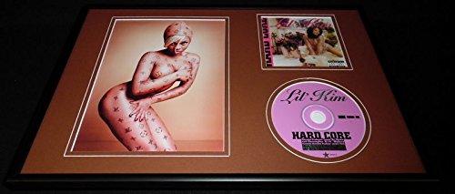 Lil Kim Framed 12x18 Photo & Hardcore CD Display