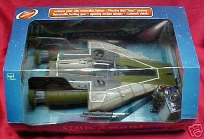 A-Wing Fighter Green Star Wars Saga Target Exclusive hasbro