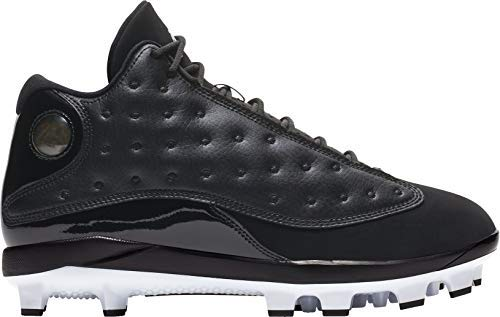Jordan Men's Baseball Cleat Air XIII Retro MCS (9, Black) (Jordan Retro 9)