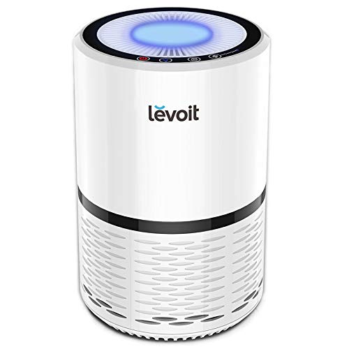 - LEVOIT Air Purifier for Home Smokers Allergies and Pets Hair, True HEPA Filter, Quiet in Bedroom, Filtration System Cleaner Eliminators, Odor Smoke Dust Mold, Night Light, 2-Year Warranty, LV-H132