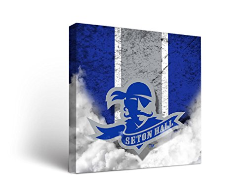 Seton Hall Pirates Canvas Wall Art Vintage Design