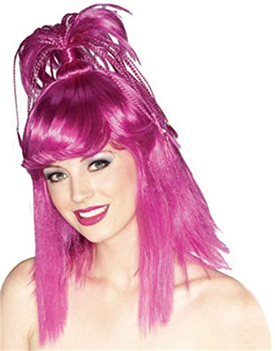 Rubie's The Genie Wig, Purple, One Size