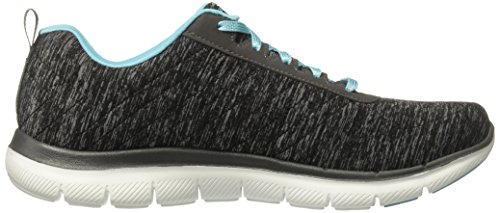 Energy Sneaker Appeal 2 Flex Türkis 0 Skechers Schwarz HIGH Damen 0tq5w5K4