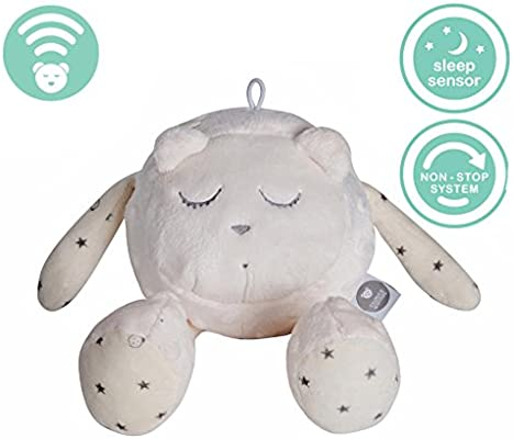 MyHummy SZUMISIE Mint Snoozy White Noise Toy with Cry Sensor /& Non Stop System