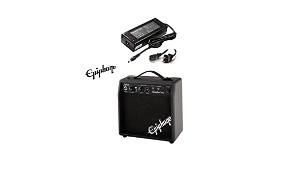 Amazon.com: AC Power Supply Power Adapter for Epiphone Electar 10 Guitar Amplifier: Musical Instruments