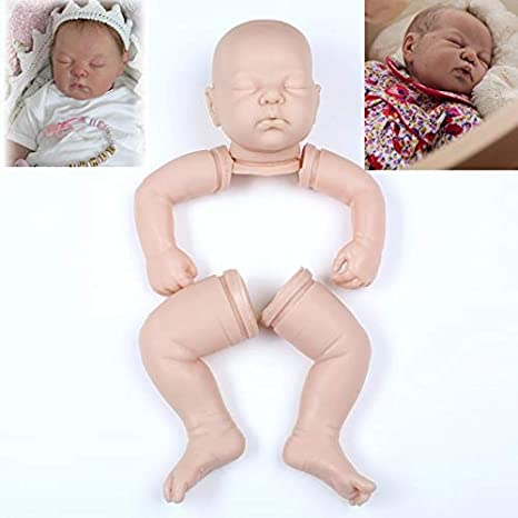 "vinyl parts only FREE GIFT Jewel Reborn baby doll kit  18/"" when finished by you"