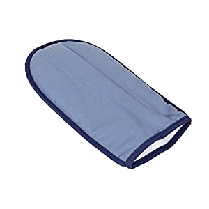 DMI TheraBeads Microwavable Heating Pad Mitt for Moist Heat Pain Relief Therapy for Arthritis and Carpal Tunnel Syndrome, One, Blue