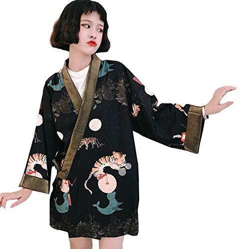 Lisa Pulster カーディガン レディース トップス 日式 風 和服改良 中国風 民族風 可愛い コート uv防止 夏秋