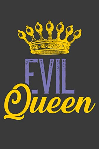 Evil Queen Makeup Once Upon A Time (Evil Queen: Awesome Halloween scary Evil Queen back to school notebook)