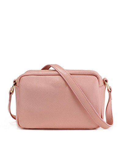 Otomoll Damen Leder Crossbody Tasche Handtasche Handtasche Schultertasche