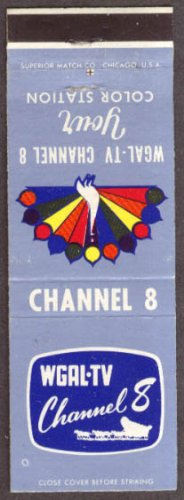 Wgal Tv Nbc Tv Channel 8 Lancaster Pa Matchcover
