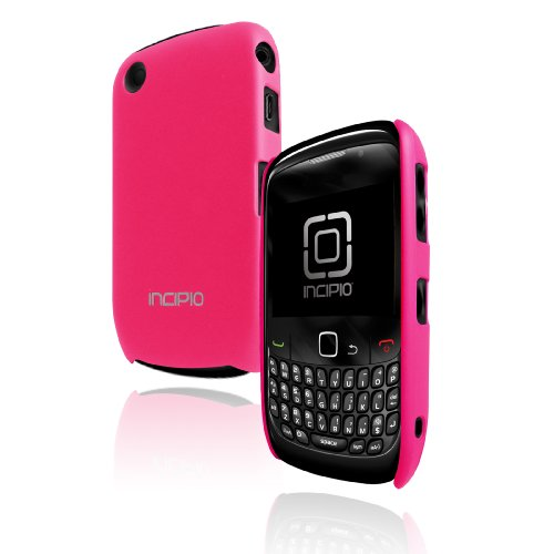 Incipio Technologies Feather Polymer Case for BlackBerry Curve 8500 Series (Magenta)