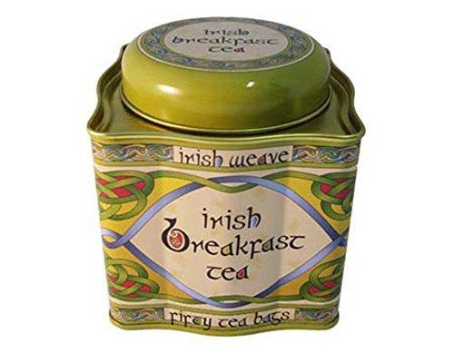 Irish Tea (Breakfast Tea - Irish Weave Tin 50 Tea Bags)
