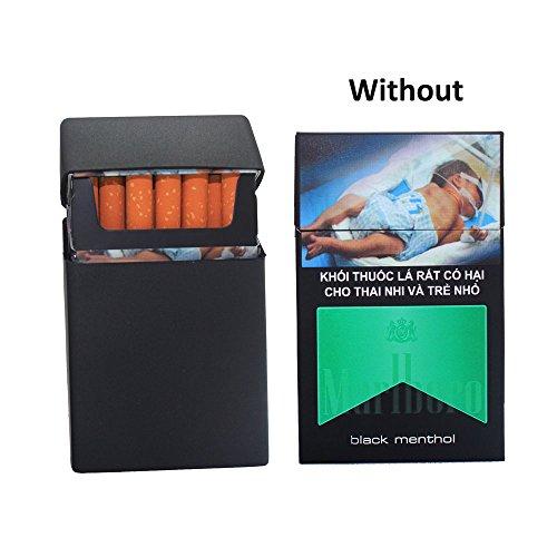 Silicone Case De Pack Housse Box Cover Design Boshiho Style Pcs Mode Soft Cigarette Full Lightweight noir Holder Protection 2 Aqd6SSEwt