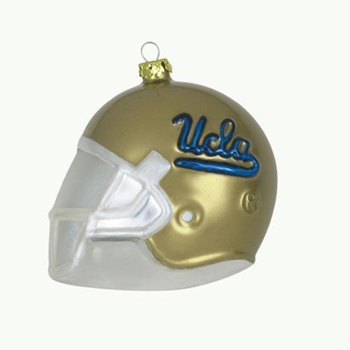 UCLA Bruins Team Glass Helmet Ornament (Ncaa Helmet Tree Ornament)