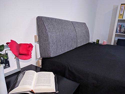 41odO5AE vL Formalind Die Fantastische Rückenlehne für Bett und Sofa 70 X 45 X 15 cm // Rückenkissen zum Fernsehen und Lesen in…