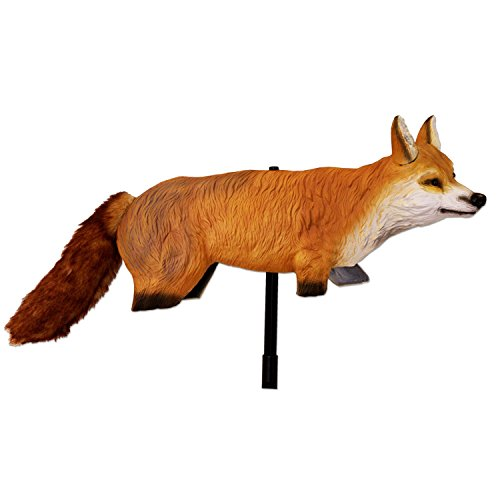 Geese Goose Decoy (Bird-X 3D Fox Predator Decoy for Goose, Duck, and Small Animal Control)