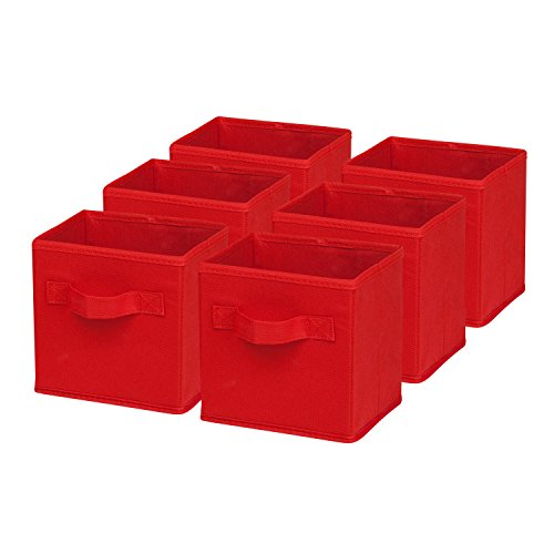 honey-can-do-mini-non-woven-foldable-cube-bin-6-pack-red