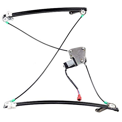 741-550 Front Left Driver Side Power Window Regulator with Motor fit for 2000 Chrysler Grand Voyager or Voyager 1996-2000 Chrysler Town Country 1996-2000 Dodge Caravan 1996-2000 Plymouth Grand Voyager