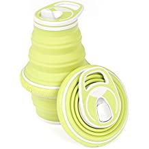 New! HYDAWAY Collapsible Pocket-sized Travel Water Bottle - 21 oz.